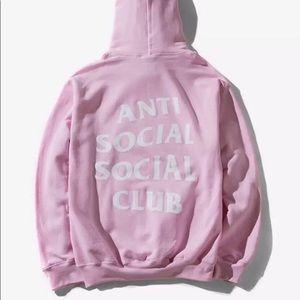 ANTI SOCIAL SOCIAL CLUB SWEATER - Pink